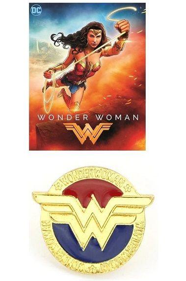 odznak Wonder Woman DC Comics Diana