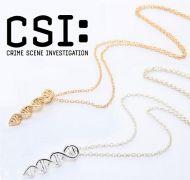 řetízek CSI dvoušroubovice DNA