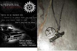 řetízek Supernatural (Lovci duchů) - Impala