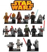 Star Wars Blocks Bricks Lego figurka diorama