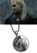 vlčí medailon Zaklínač (Netflix) Geralt z Rivie 5 cm