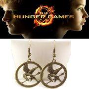 Hunger Games náušnice Reprodrozd