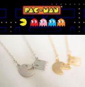 Pac-Man náhrdelník