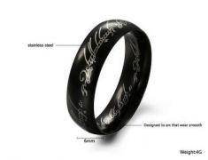Jeden prsten Prsten moci Pán prstenů - černý
