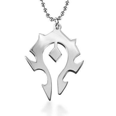 World Of Warcraft / WOW - ocelový náhrdelník Horde