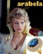 kouzelný prsten Arabela modrý