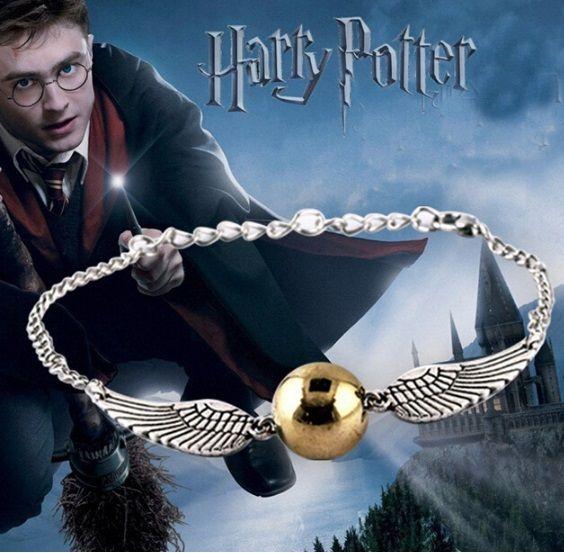 náramek Harry Potter Zlatonka