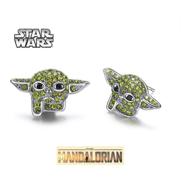 náušnice Star Wars baby Yoda The Mandalorian