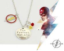 řetízek The Flash s přívěsky