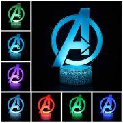 lampička Avengers Logo
