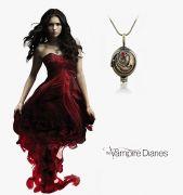 medailonek Elena Upíří deníky (The Vampire Diaries) bronzový