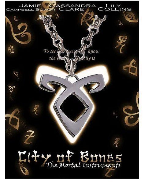 náhrdelník The Mortal Instruments (ocel) Andělská síla