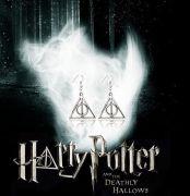 náušnice Harry Potter Relikvie smrti (střední)