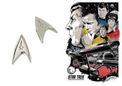 náušnice Star Trek