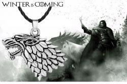 náhrdelník Hra o trůny Stark (Game of Thrones)