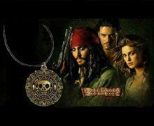náhrdelník Piráti z Karibiku Aztécká mince bronz