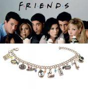 náramek s přívěsky Friends (Přátelé)