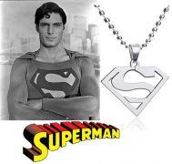 ocelový řetízek Superman Logo | menší, větší