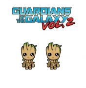 puzetové náušnice Groot Strážci Galaxie