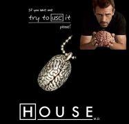 řetízek Doktor House MOZEK