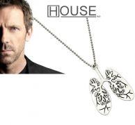 řetízek Dr. House - plíce