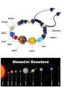 Vesmírný náramek Sluneční soustava | povolovací, elastický