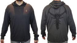 triko s dlouhým rukávem a kapucí Diablo III Prime Evil2