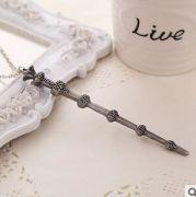 Harry Potter - náhrdelník kouzelná hůlka