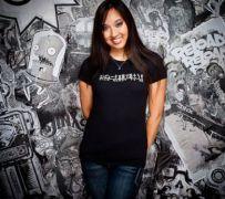 dámské tričko J!NX Classics Talk Nerdy To Me