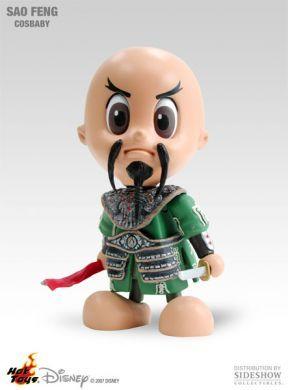Cosbaby figurka Piráti z Karibiku Sao Feng Sideshow Collectibles