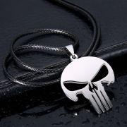 Punisher náhrdelník Logo (ocel)