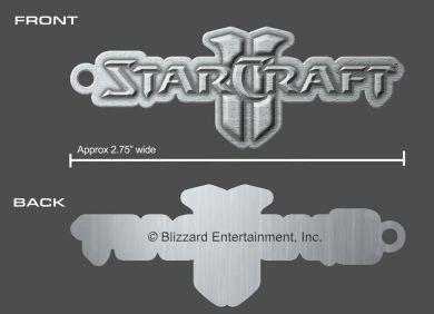 přívěsek Starcraft II Wings of Liberty Logo Gaya Entertainment