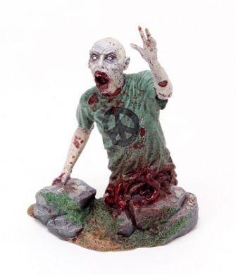 The Walking Dead/Živí mrtví soška Half Zombie CS Moore Studio