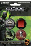 G.I. Joe placky Snake Eyes vs Storm Shadow