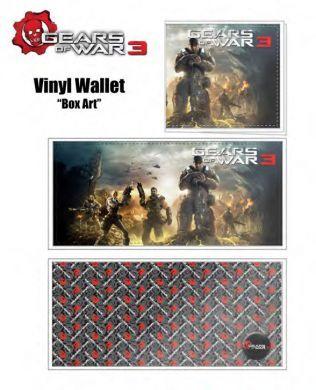 peněženka Gears of War 3 Box Art Neca