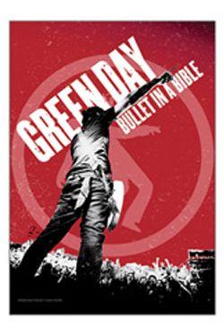 textilní plakát Green Day Bullet In A Bible Bioworld