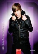 Justin Bieber - klíčenka Purple