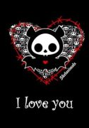 Skelanimals pohlednice Diego I love you