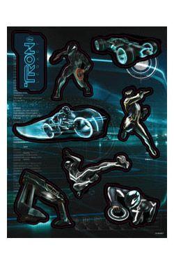 Tron Legacy arch s 8 kusy magnetů Set B