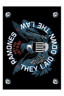 Vlajka / plakát Ramones They Laid Down the Law Bioworld