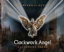 Clockwork Angel - Mechanický anděl náhrdelník B