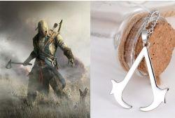 Assassins Creed náhrdelník Logo (bižu)