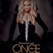 Bylo, nebylo (Once Upon a Time) náhrdelník dýka Temná Emma