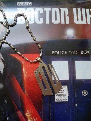 2. jakost řetízek Doctor Who ( Pán času)