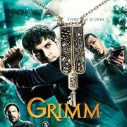 náhrdelník klíč Grimmů