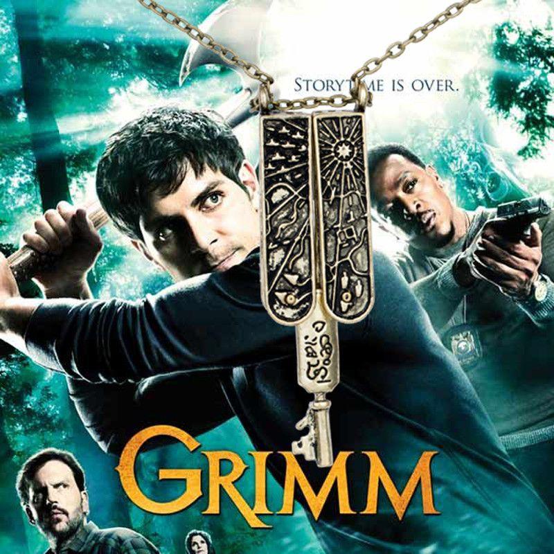Grimm - náhrdelník klíč Grimmů
