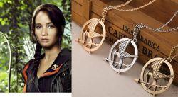 Hunger Games náhrdelník Reprodrozd mini