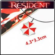 Resident Evil náhrdelník Umbrella (ocel)