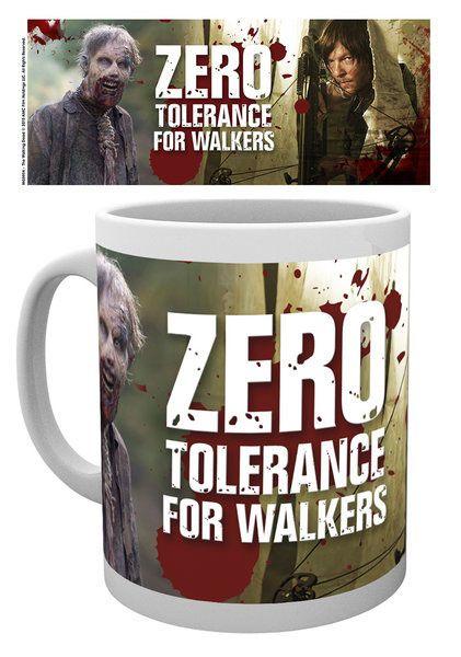 hrnek The Walking Dead (Živí mrtví) - No Tolerance For Walkers GB Eye