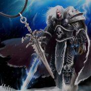 World Of Warcraft náhrdelník Arthas Frostmourne
